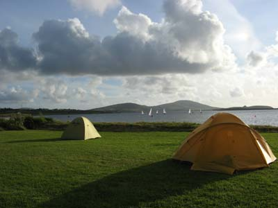 Caravan and Camping in Ballinrobe Co. Mayo, in the West of