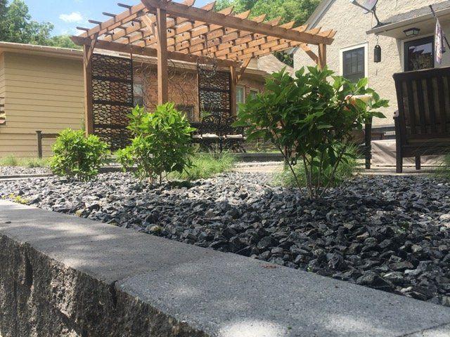 Rock Vs Wood Mulch