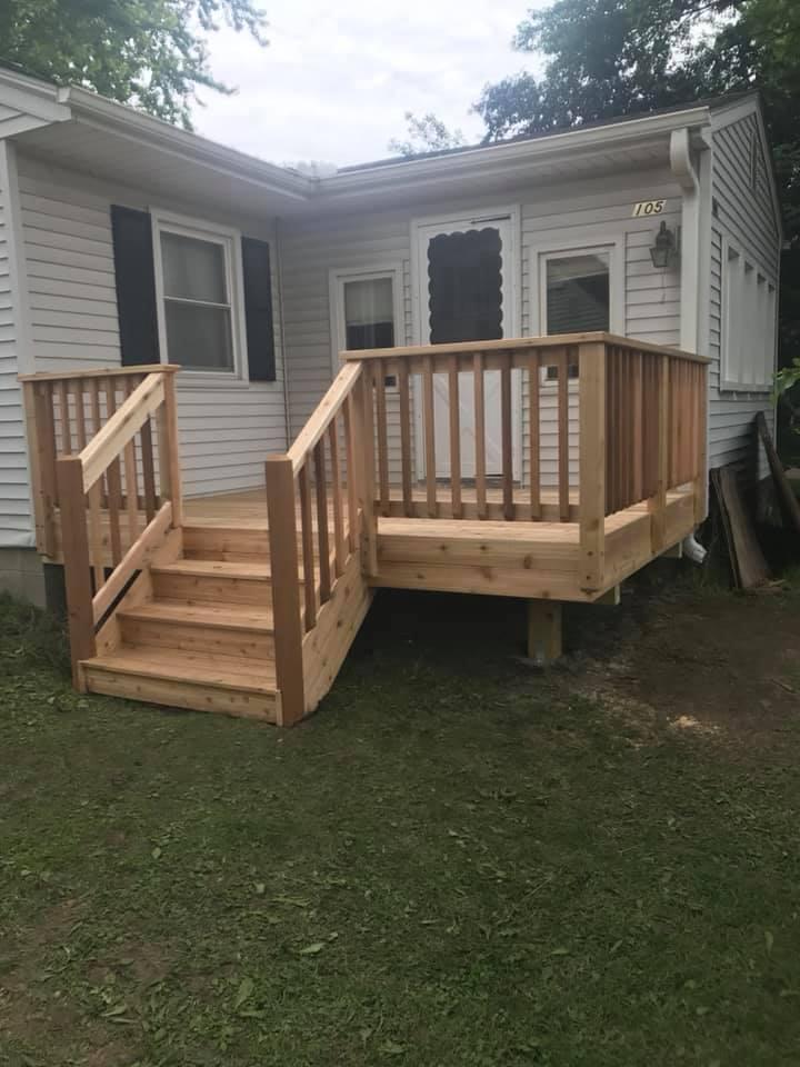 Wooden Decks Minneapolis Mn Pink Construction Llc