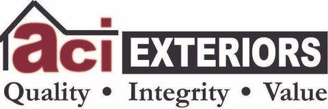 ACI Exteriors logo