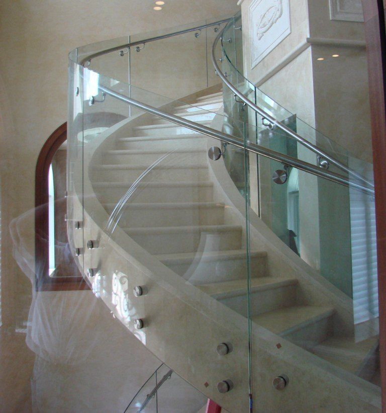 Glass Railings   Insulated, Low-e   Curved Glass Creations