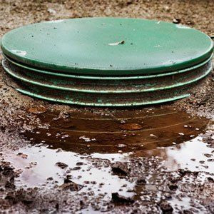 septic tank damages