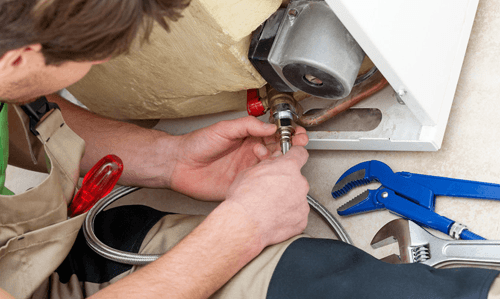 boiler breakdowns being repaired by a professional