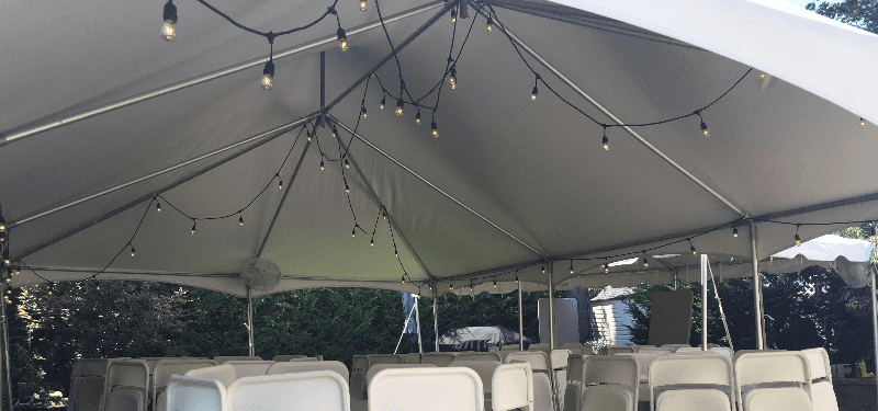 Long Island Canopy Tent Chair Rental Events Party