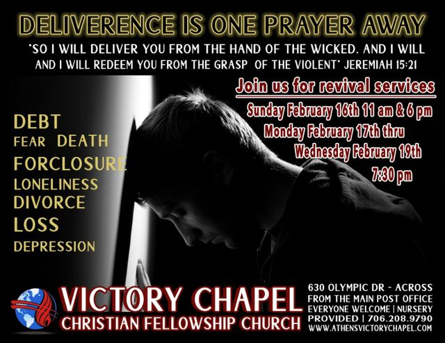 Athens Victory Chapel Christian Fellowship Church