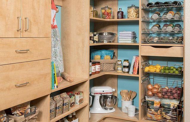 Custom Kitchen Panties Affordable Closets