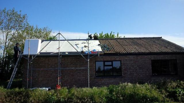 Autumn Asbestos Corrugated Roof Leaking