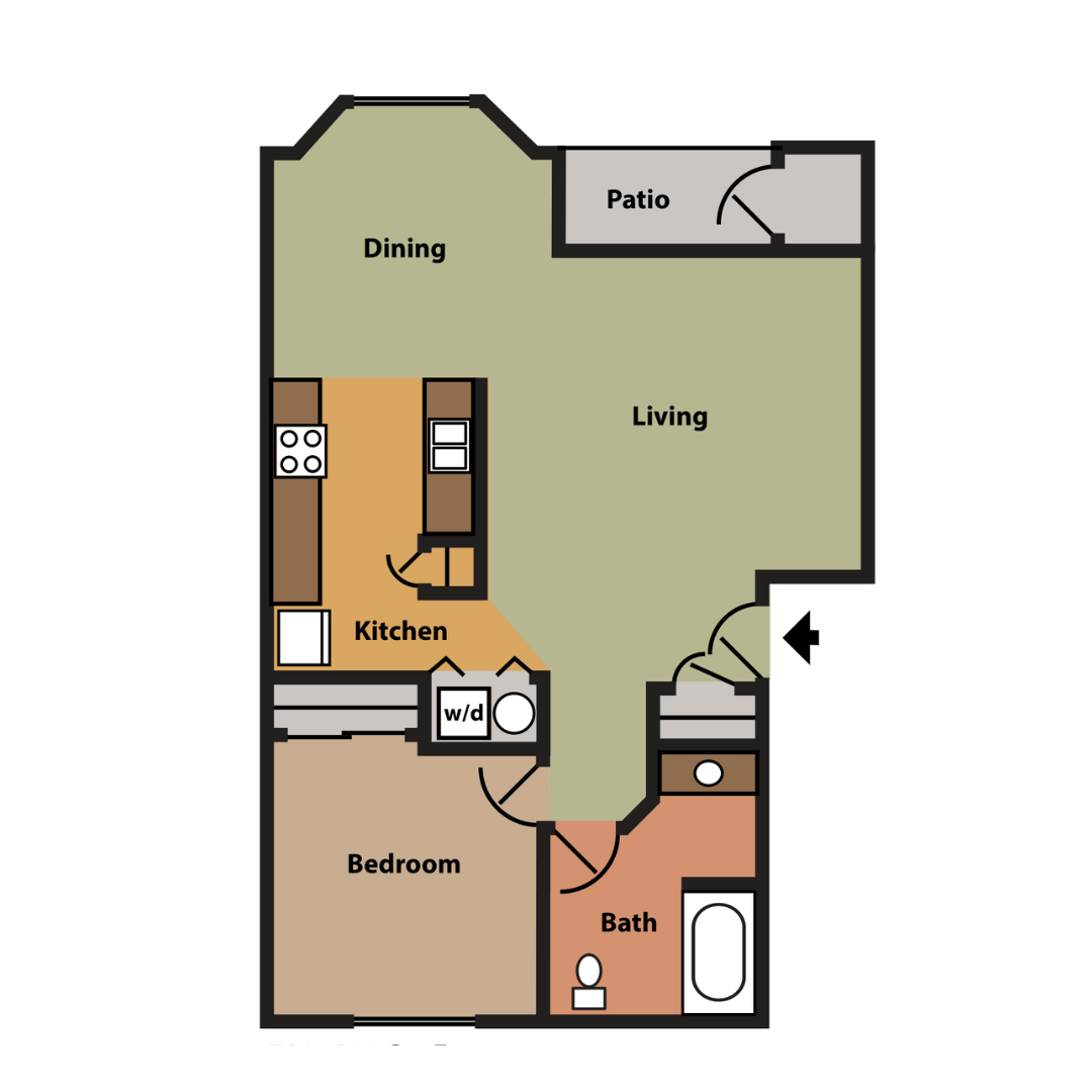 1 Bedroom Apartments For Rent In Fredericton: Rock Springs Apartments