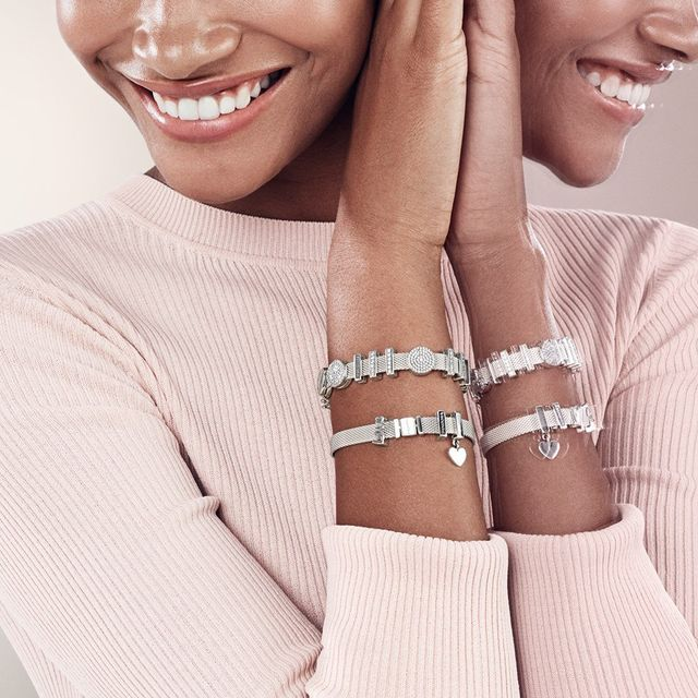 charm pandora pour bracelet reflexion