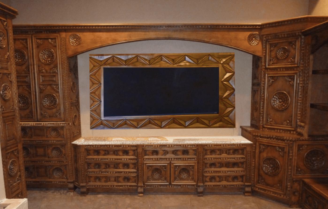Carved Kitchen Cabinets, Refacing Cabinets, Santa Barbara ...