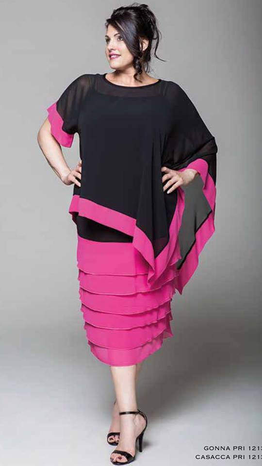 Taglie forti fino alla 10XL Donna Curvy Abbigliamento