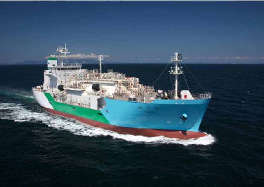 LNG bunkering vessel Kaguya Source: NYK
