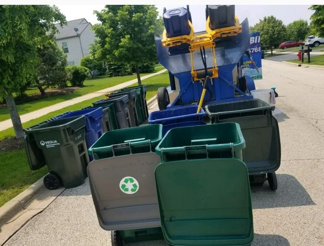 Trash Bin Cleaning | Plainfield, IL | Eco Trash Bin Clean