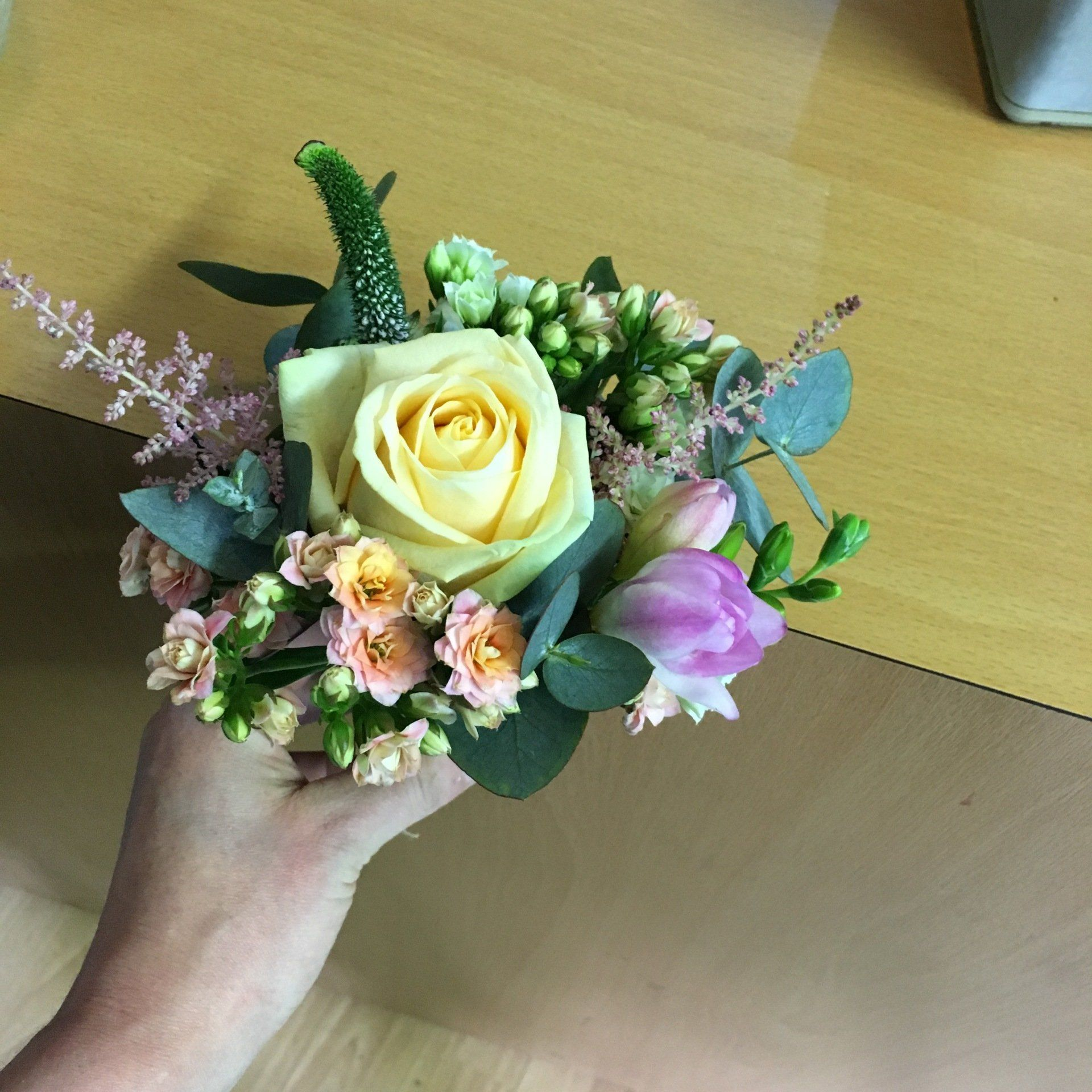 Wedding Flowers Lancashire: Gallery Of Bridesmaids Designs And Work, Wedding Flowers