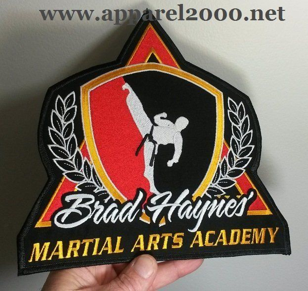 Martial Arts Academy Patch