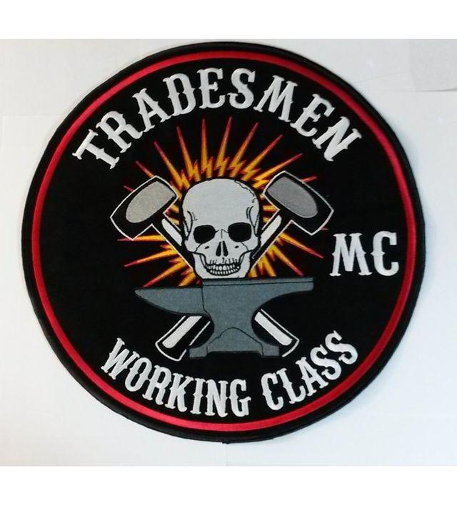 Biker Pin MC Club Member 1/% Harley Full Patch Back Patch distintivi Probe USA