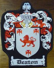 Family Crest Iron-on Patch Maker