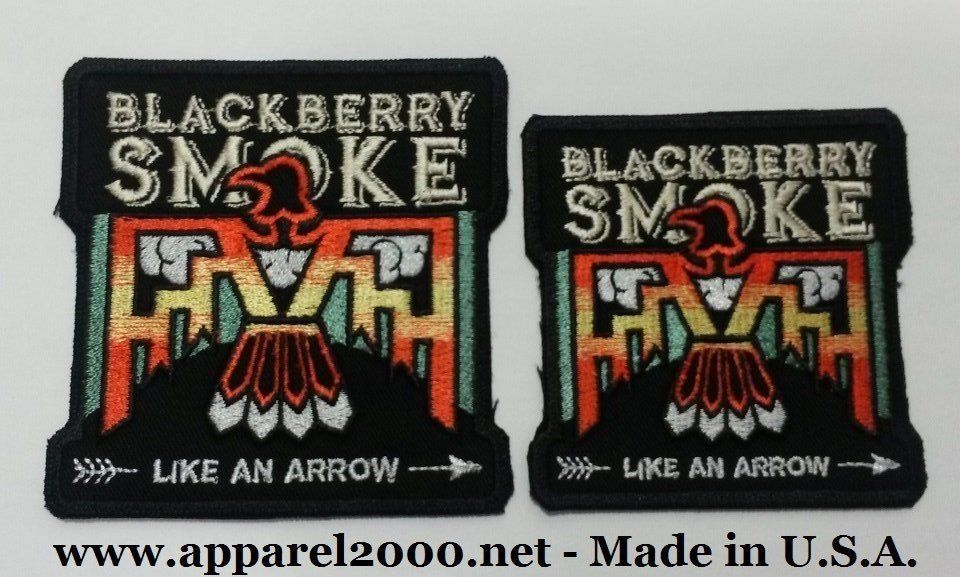 Promo patches for rock bands