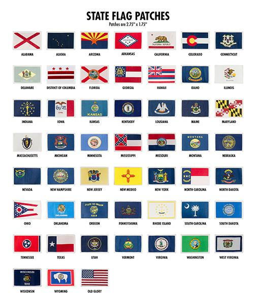 State Flag Patches