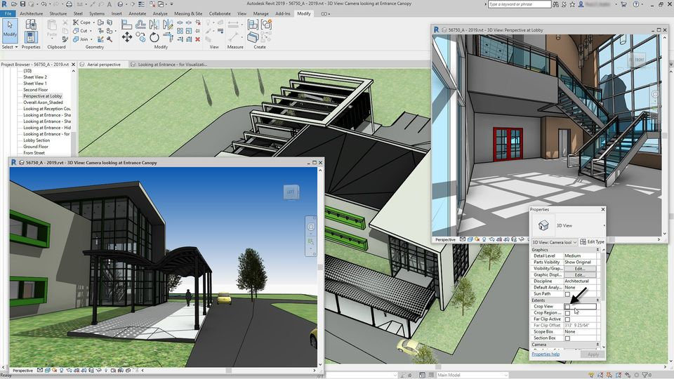 3d software for uncropped perspective views