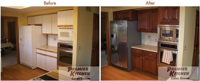 Kitchen Cabinets Gallery Buffalo Rochester Ny Premier Kitchen Cabinet Refacing Inc