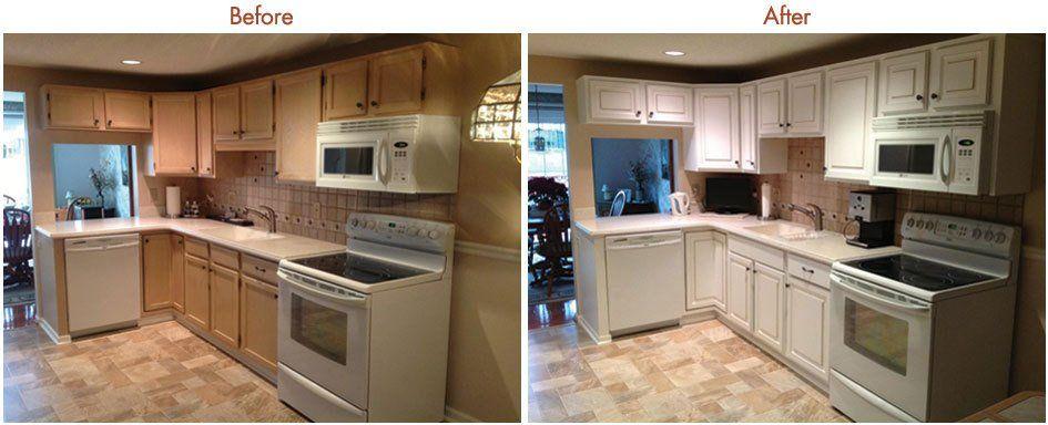 Kitchen Cabinet Resurfacing Gallery | Buffalo & Rochester ...