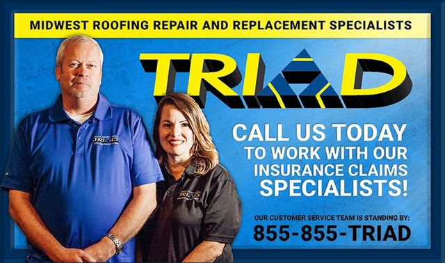 Roofing In Carthage Mo Triad Inc Roof Replacement