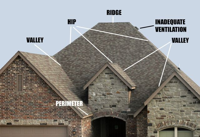 Pitched Roofs Why Mold Happens
