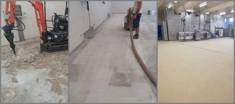 pavimentazione prima e dopo