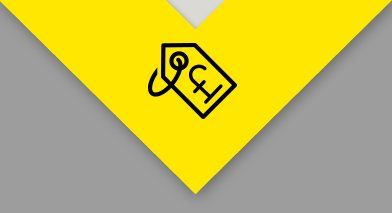 pound symbol on tag