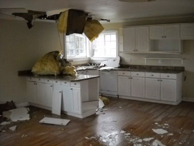 Burst Pipes Cleanup Water Damage