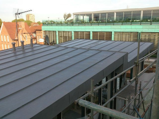 Essex Metal Roofing Zinc Copper Plx Stainless Steel