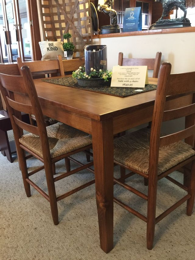 Dining Room Furniture Table Chair Buffet Serve Hutch Cabinet New Market Va
