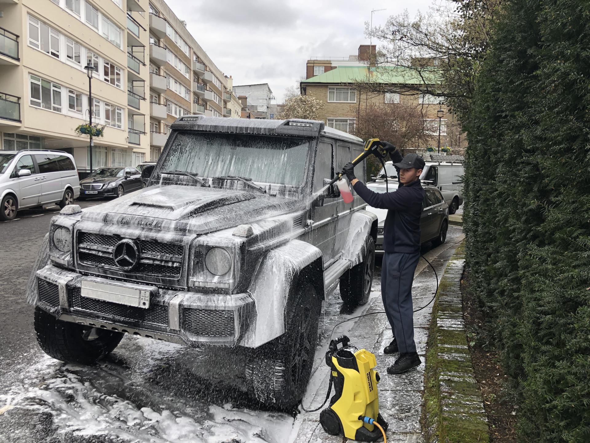 Tino Mobile Car Wash: Car Wash Near Me - London