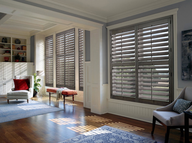 Custom Living Room Window Treatments For Homes Near Boston Ma