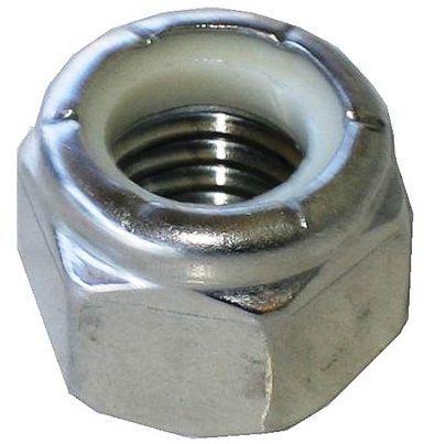 """Steel Nylon Insert Lock Nuts 1//4/""""-20 Qty 100 Zinc Plated Nylock"""