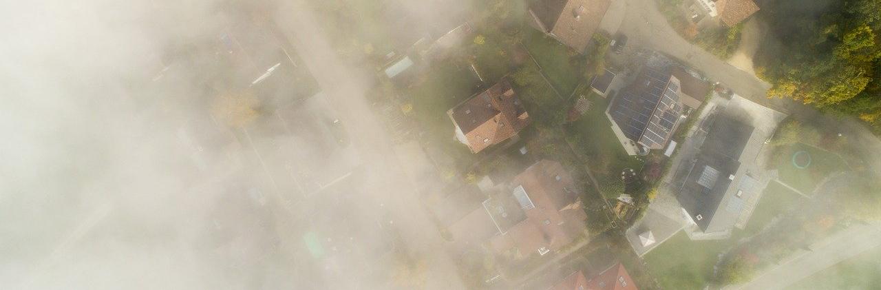 Storm Over Neighborhood