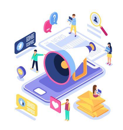 Online reputation management and reviews marketing on social media platforms by Marlik Group internet marketing agency