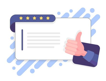 manage and create good reviews for small and local businesses by Marlik Group inbound marketing agency