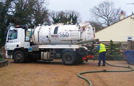 Pipe and drain cleaning   S & D Sewage Services Ltd