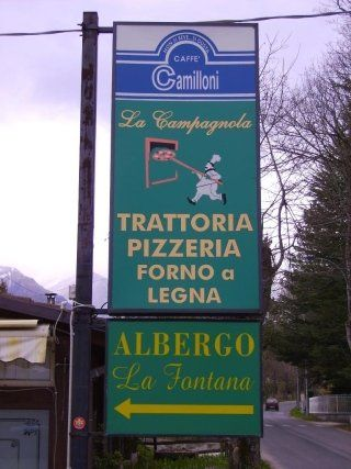 Ristorante La Campagnola - Pensione La Fontana   Amatrice, RI