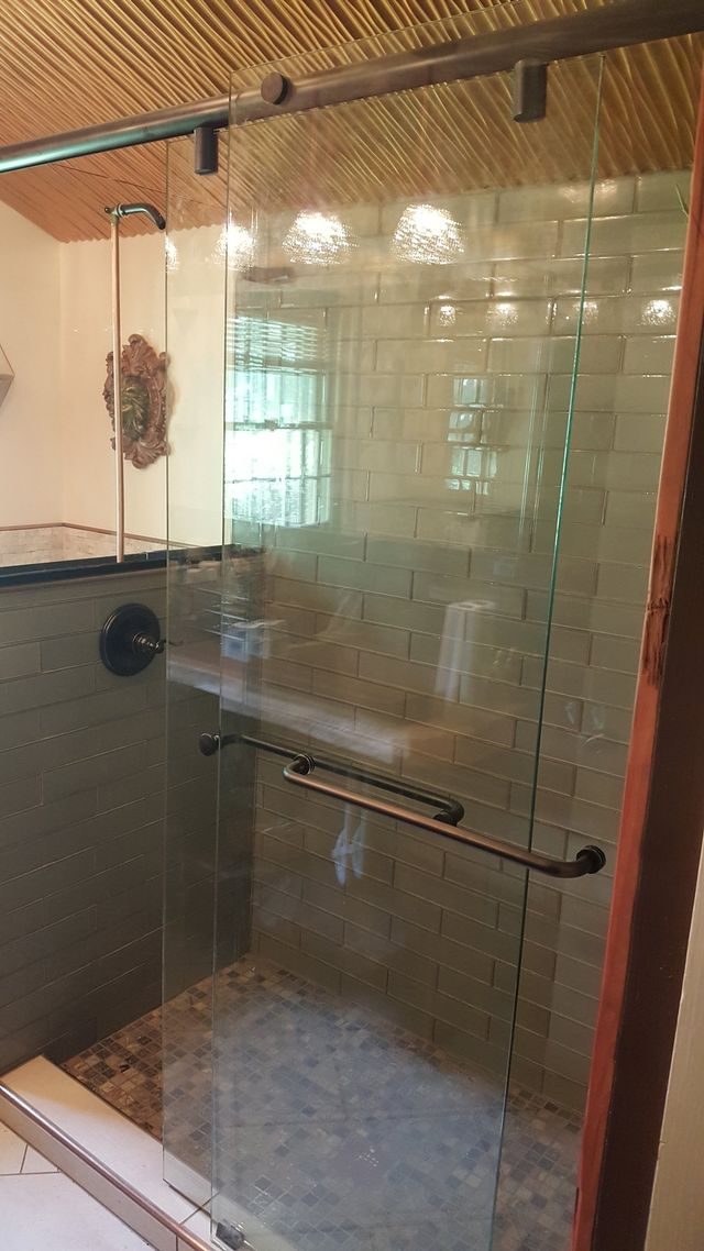 Shower Glass And Mirror Installation Custom Glass Shower