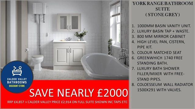 Our Blog Calder Valley Discount Bathrooms