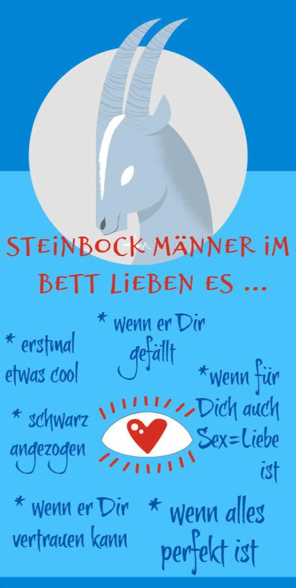 Steinbock Mann Sex
