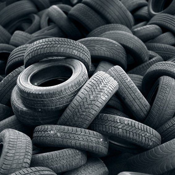 Tyre Recycling Services At Mellor Metals