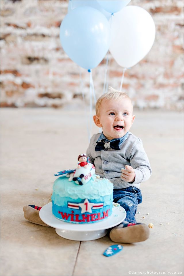 Marvelous Wilhelm 1 Year Cake Smash Funny Birthday Cards Online Elaedamsfinfo