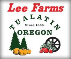 Lee Farms Berry Pumpkin Patch Christmas Trees Tualatin Oregon