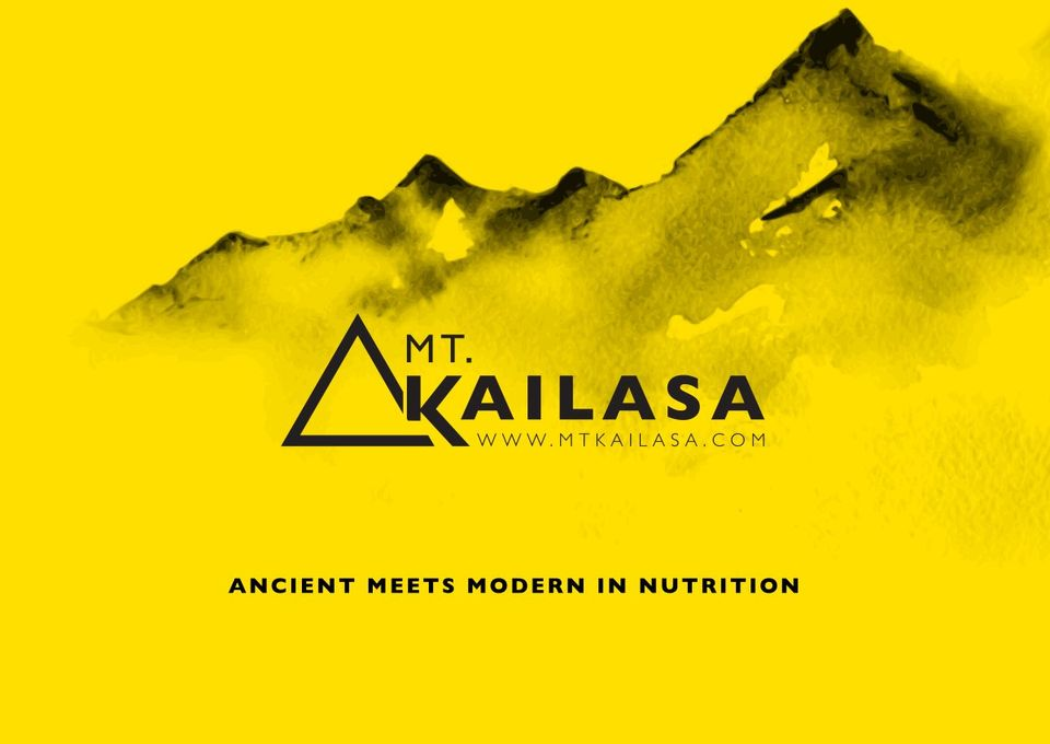 beHIVE Design | Mt Kailasa Nutrition brand logo and ...