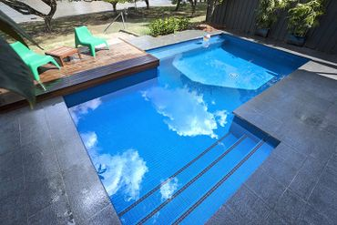 Resort Pool Contractors Building In Brisbane Norfolk Pools
