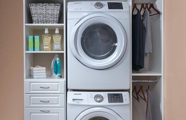 Custom Laundry Cabinets Room